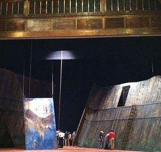 Technical run through for stage production at the Teatro del Palacio de Bellas Artes, El DF, Mexico