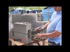 Project First Home - Load Bearing Concrete Blocks by Jackbilt - YouTube Tv Seasons, Construction Business, Concrete Blocks, First Home, Home Projects, Diy, Youtube, Bricolage, Do It Yourself