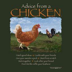 A Chicken's Little Bits of Wisdom