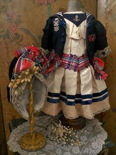 ~~~RESERVED // Elegant French Three Piece Bebe Costume ~~~