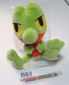 Pokemon Center Treecko Geckarbor Arcko OA Plush Doll.with the bonus item #PokemonCenter