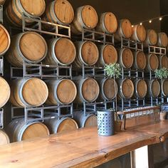 Want a California winery wedding?? Consider @domenicowinery in San Mateo County (in San Carlos to be exact). They have a fun indoor space, and they can actually rearrange the wine barrels to create different spaces for your event. The atmosphere is so fun