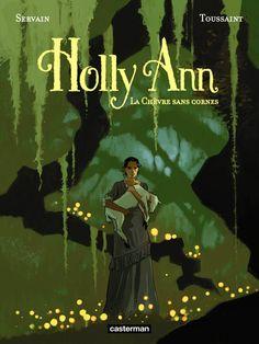 Holly Ann, une détective qui associe déduction et séduction - http://www.ligneclaire.info/servain-toussaint-23006.html