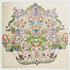 #secretgarden #johannabasford #adultcoloringbook