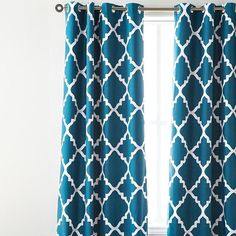 Have these on either side of the window... it would be framing the bed. $44.99 - http://www.sears.ca/product/style-factory8482-mc-marrakech-foam-back-grommet-panel/624-28304-624-28304