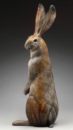 """Résultat de recherche d'images pour """"sculpture lapin rouge"""""""
