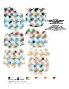 free plastic canvas owl patterns  Linda  Pinterest  Owl