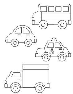 Confira vários moldes de carros para trabalhos com Patchwork, EVA e muito mais. Aproveite cada molde em tamanho grande e crie belos itens e projetos de decoração.