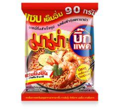 Thai Tom Yum Kung Mama Noodles Spicy Shrimp Thai x 1 Pcs #mama