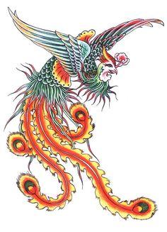 Phoenix Bird Tattoos, Phoenix Tattoo Design, Tattoos Phönix, Hahn Tattoo, Rooster Tattoo, Tattoo Bird, Tattoo Designs, Phoenix Art, Phoenix Drawing