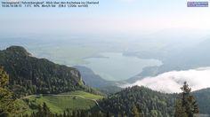 Webcams in Bayern, aktuelles Wetter und Vorhersage - http://www.christianreiter.at/webcams - für Outdoorfans, Kiter & Windsurfer, Segler, Stand-Up-Paddling, Bergsportler, Paragleiter & Drachenflieger
