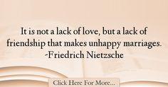 Friedrich Nietzsche Quotes About Marriage - 43856