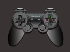 Nice Playstation 2 Controller PSD. PlayStation 2 Handle Hope You Like Ths  #Black #controller #download #free #freepsd #freebie #game #gaming #icon #play #Playstation #ps2 #psd #psdfinder #resources #Sony Check more at http://psdfinder.com/free-psd/playstation-2-controller-psd