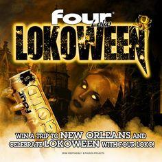 #Lokoween in #NewOrleans! #FourLoko