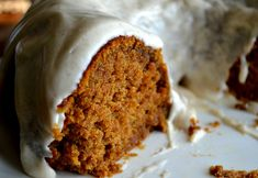 Pumpkin Spice Buttermilk Cake with Cinnamon Cream Cheese Frosting...It ...