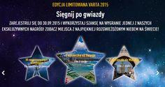 "Loteria ""Sięgnij po gwiazdy"" http://www.win-with-varta-consumer.com/content.php?l=pl"