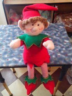 Muñeco nomo de navidad.