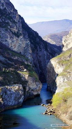 Caucasus. Dagestan. SULAKSKIY canyon.