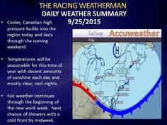 Fari and quiet weather through the weekend under high pressure's control
