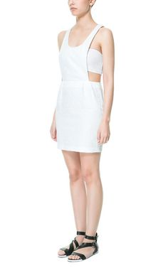 Image 1 of JUMPER STYLE TUBE DRESS from Zara