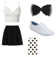 """""""Untitled #5"""" by libbyb0805 ❤ liked on Polyvore featuring Alexander Wang, Keds and Kate Spade"""