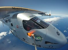 Swiss adventurer Bertrand Piccard landed Solar Impulse in Seville, Spain this morning, completing a three-day historic trip across the Atlantic Ocean in an airplane powered by only the sun's energy.