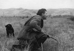 Hemingway duck hunting in Idaho - John F. Kennedy Presidential Library & Museum