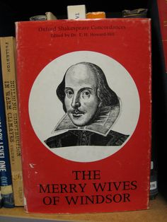 Another in our out-of-print library! We love these covers from our old colourful Oxford Shakespeare Concordances series. #shakespeare #literature #books #libraries #merrywives