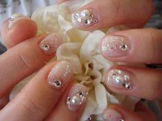 pearl 3D nail art