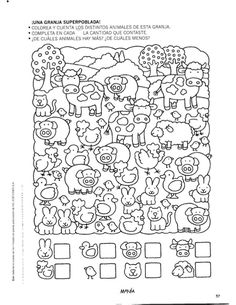 Album Archive - 456 numero mania del 1 al 30 Kindergarten Games, Preschool Writing, Preschool Learning Activities, Preschool Lessons, Educational Activities, Kids Math Worksheets, Printable Activities For Kids, Easy Drawings For Kids, Picture Puzzles
