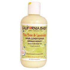 California Baby Hair Conditioner Tea Tree and Lavender -- 8.5 fl oz