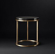Nicholas Marble Round Side Table