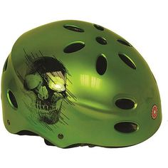 Razor V17 Youth Helmet, Green