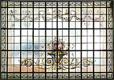Handpainted and stained glass window. Please click the image for more information.