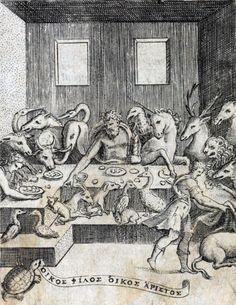 Achille Bocchi - Symbolicarvm qvaestionvm de vniuerso genere (1574).