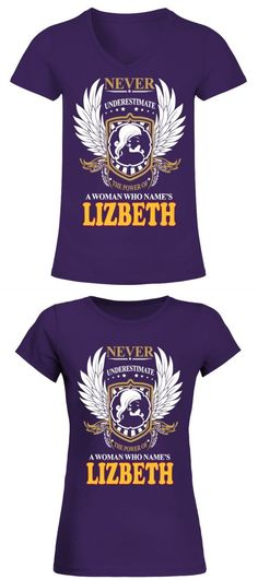 892c29a7e Customised t-shirt for men with lizbeth a woman who names lizbeth the best t
