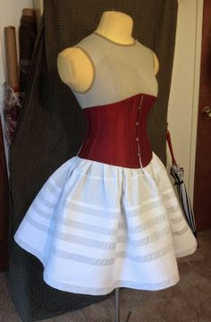 The Laced Angel: Making a Corded Petticoat
