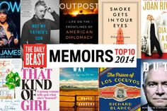 The Daily Beast rounds up the cream of a very good year for the memoir- ranging from a former secretary of defense to a crematory worker.