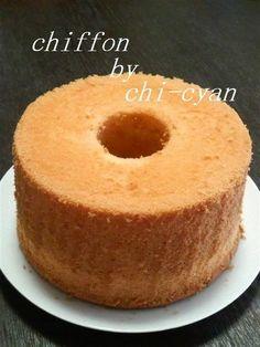 Melt-In-Your-Mouth~☆ Basic Chiffon Cake ☆