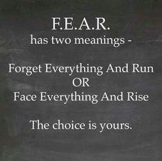 No More Fear!