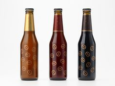 nendo designs coffee beer bottle for sekinoichi - designboom