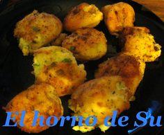 El horno de Su: Croquetas de patata, calabacín y parmesano (HEMC #56)