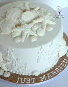 Beach Themed Wedding cake - Beach Wedding cakes in Daytona