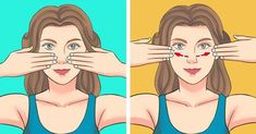 A Japanese Facial Massage That Can Rid You Of Swelling and Wrinkles In 5 Minutes a Day (Famous Supermodels Swear by It) Upper Back Exercises, Face Exercises, Lip Wrinkles, Prevent Wrinkles, Lulu Hairstyles, Wrinkle Remedies, Face Yoga, Face Massage, Anti Aging Facial