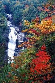 Lower Whitewater Falls near Tamassee-Salem, SC