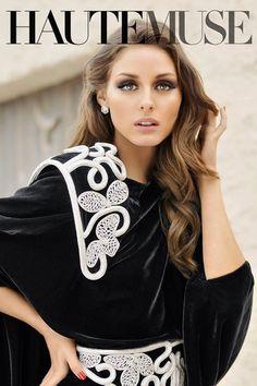 Olivia Palermo for Haute Muse.
