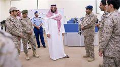 Defense Minister Deputy Crown Prince Mohammed bin Salman