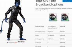 Sky broadband - #fibreoptic #skyintenret #sky_fibre_broadband #deals #packages