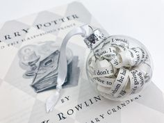 "Harry Potter and the Half-Blood Prince ""The Unbreakable Vow"" Book Ornament"