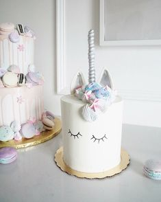 Magical fairytale Unicorn cake
